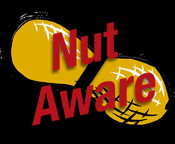 Nut Aware with pic of peanut